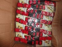 new job lots dog leads collars bowls pack 10 box 100 all £1 each boot sails over 9,000 to go