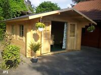 LOG CABINS, GRANNY ANNEXES, BEACH HUTS, HOLIDAY HOMES, PLAY HOUSES AND ALL TIMBER GARDEN BUILDINGS