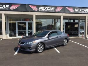 2013 Honda Accord EX-L- C0UPE AUT0 LEATHER SUNROOF NAVI 89K
