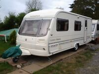Avondale Golden Osprey L 2004 4 berth touring caravan in excellent condition