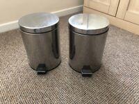 rubbish bin with pedal