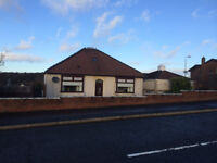Spacious 3 Bed detached bungalow with dinning room, double garage in sought after Rushes area.