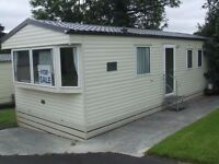 Atlas Aurora brand new static caravan for sale in Forest of Pendle leisure park, Roughlee, Lancs