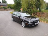 Simply outstanding - Jaguar X Type 2.2 TD Soveriegn Estate - 6 speed manual Great history - New MOT