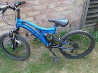 boys 20 inch muddy fox moantain bike