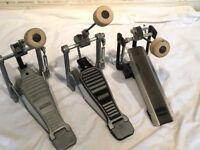 Wokingham Drum Sales - Premier / Olympic Bass Drum Pedals x 3