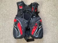Diving equipment..Mares Prestige BCD size Small