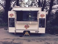 Unique Catering Trailer with Commercial Fresh Coffee Machine - Excellent Condition