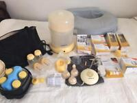 Medela Breast Pump and Steam Sterilizer plus loads of extras