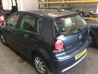 VW POLO 9N3 BREAKING FOR PARTS