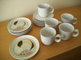 Vintage Noritake Stoneware Tea Set