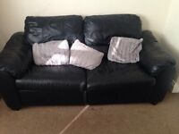 Tv stand. Table. Rug. 2 piece Sofa set + puffy. House clearance as I am moving place.