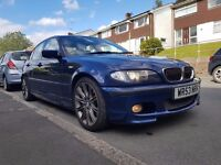 BMW E46 320d M SPORT 6 Speed Full Service History Xenons Leather 18'' Alloys