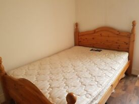 140x200 double bed with mattress