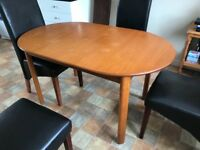 UPDATED: Extending Dining Table and CHAIRS