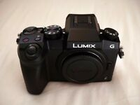 Panasonic Lumix G7 Camera Body | As New | 4K Video | Excellent in Low Light | Interchangeable Lens
