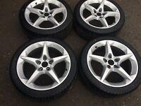 Vauxhall Penta Alloy Wheels with Tyres