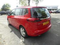 Vauxhall Zafira Tourer EXCLUSIV CDTI (red) 2014-03-21