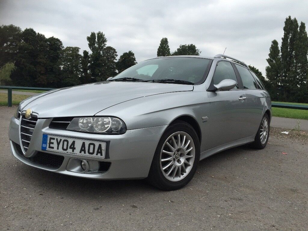 £500 ! 76500 MILES ! ALFA ROMEO 156 SW 1.9 M-JET 16V FACELIFT 2004! FULL SERVICE STAMPS! NO OFFERS!!