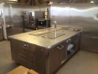 Athanor bespoke Peninsular suite. Used for 12 months been in storage in Milton Keynes for 3 years