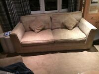 3 seater settee sofa pick up only