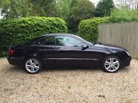 Love this car! For sale due to move abroad. Mercedes Benz CLK220 CDI Avantgarde 2dr Auto £4,995