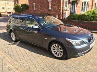 BMW 530d Touring 2008, FSH, Sat Nav, Leather, 98k, Huge Spec