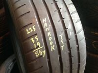225/35/19 x 1 Hankook from £30.. Second hand tyres