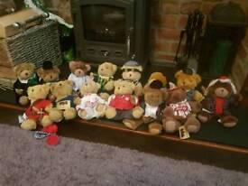 Antique teddy bears
