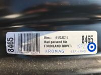 Steel Wheel Rims - 61/2JX 16 - Ford Mondeo, Galaxy, S-Max etc. as new!