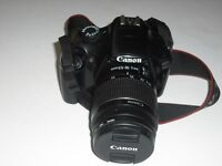 Canon 1100D DSLR Camera. In very good condition.