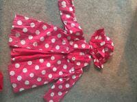 Girls polka-dot rain coat Jasper Conran Junior 18 -24 months