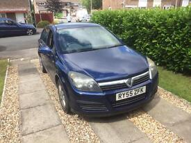 Vauxhall Astra 1.6 twinport petrol, MOT till Feb 2018