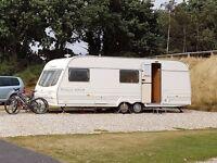 6 Berth Touring Caravan - Avondale Rialto 640-6 Millennium Edition 2000