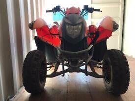 ADLY ATV-280 250cc orange Quad bike