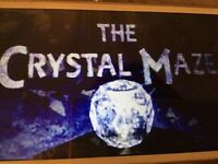 2 x Crystal Maze game play tickets, Manchester