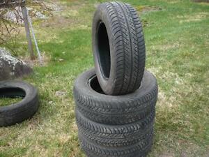 Four 205-65-15 tires $100.00