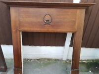 1930s orginal vintage fire surround.