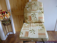 Cane conservatory suite cushions