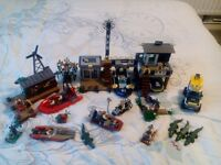 LEGO JOB LOT SWAMP POLICE STATION,CROOKS HIDEOUT,DEEPSEA