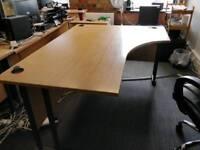 Desks and pedestals