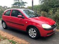 Vauxhall Corsa 1.2 SXI 3dr with Long MOT & New Timing Chain inc Major Service