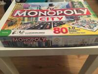 City monopoly board game