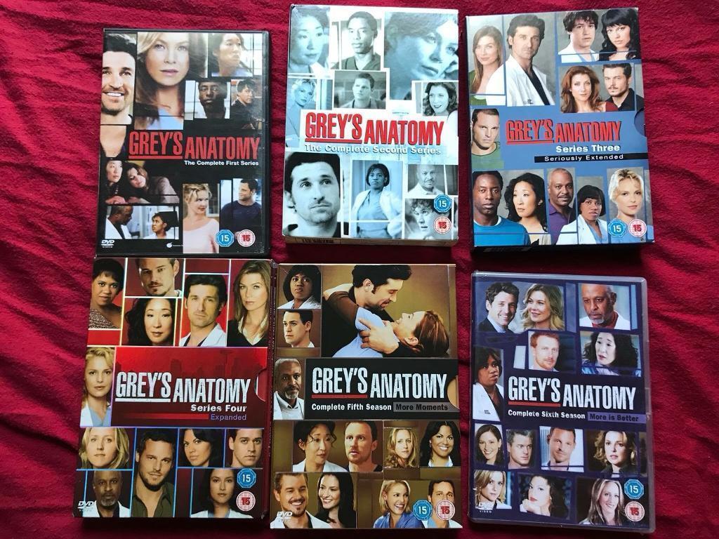 Greys Anatomy box sets. | in Airdrie, North Lanarkshire | Gumtree