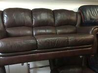 Leather suites quality secondhand from 275