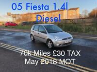 £30 TAX DIESEL £1150 2005 Ford Fiesta 1.4l* like focus megane golf insignia mondeo civic A3