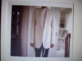 Gents White Tuxedo