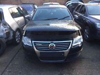 2008 VW Passat black colour complete front end