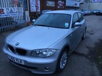 BMW 116 I PETROL MANUAL 2005 5 DOORS LOW MILEAGE DRIVES NICE