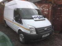 Ford transit van 2013 2.2 rwd 125 ps 6 speed high top £5850